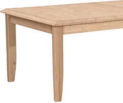 8 39 Farmhouse Table Unfinished Furniture Outlet Sanford Nc