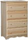 Madison Narrow 4 Drawer - Deep Drawers