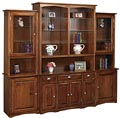 Wall Unit w/ Doors and Drawers