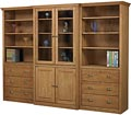 Bookcase Group w/ Doors and Drawers
