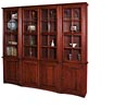 Wall Unit with Glass Doors