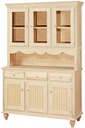 Cottage Hutch and Buffet