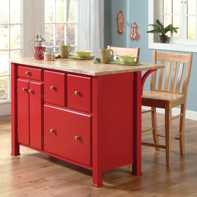 Kitchen Island Ww 499 Unfinished Furniture Outlet