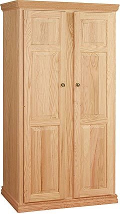Full Length Wardrobes Wc 1a0501 Unfinished Furniture Outlet