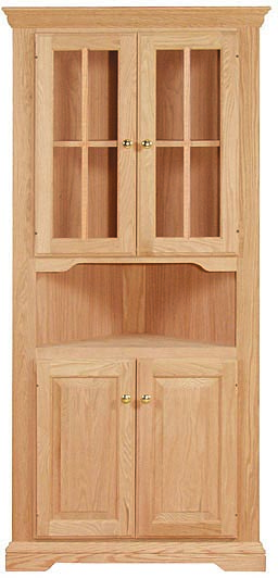 Corner Cabinet WC 2S1108 Unfinished Furniture Outlet