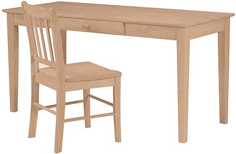 Large Writing Desk Ww Of 42, Unfinished Furniture Desk